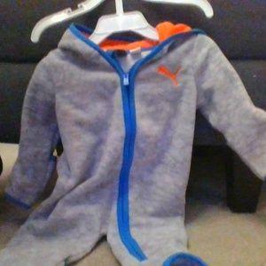 Cute 0-3 MO Puma onesie